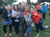 At the beer festival!