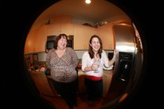 When I snuck some drinks at Whitney's Thanksgiving party and you found out and made me drink water! Haha