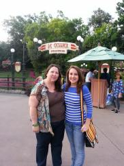 Before going to our expensive lunch at EPCOT