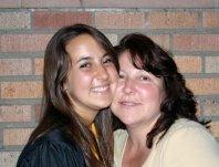 At my high school graduation